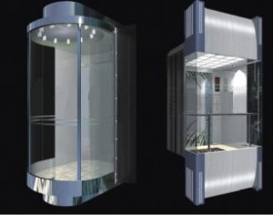 Cabin thang máy quan sát 12