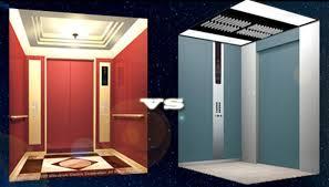 nội thất trong thang máy