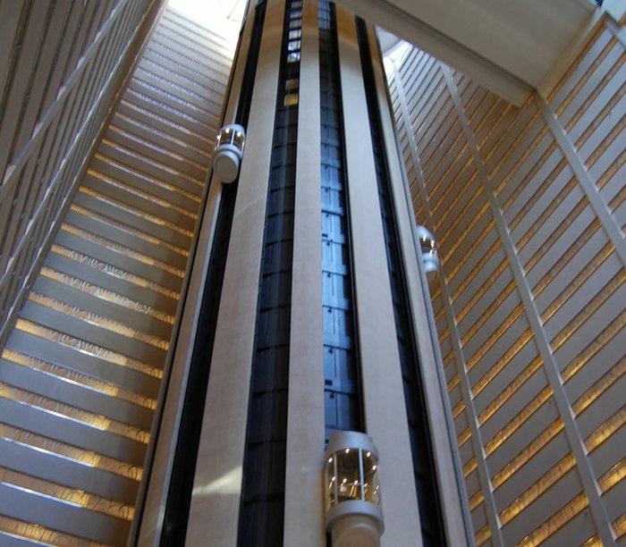 Công trình thang máy thú vị