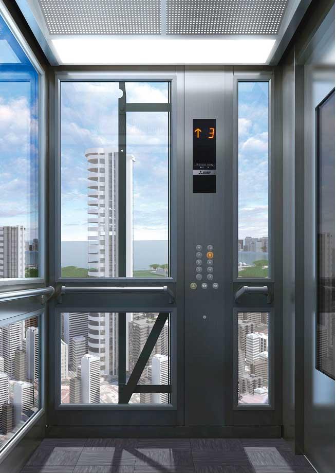 thang máy Mitsubishi nhập khẩu hiện đại