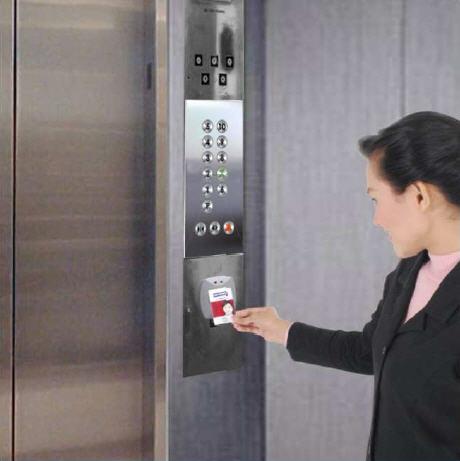 thẻ từ kiểm soát RFID thang máy