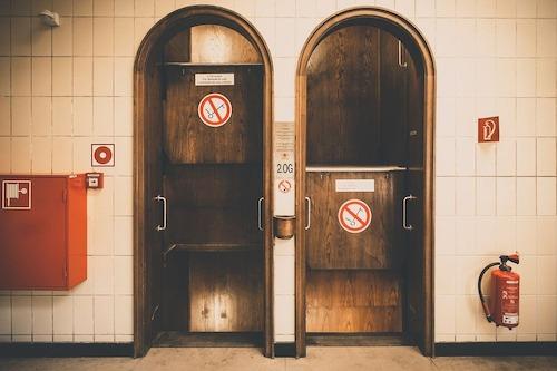 thang máy không bao giờ dừng