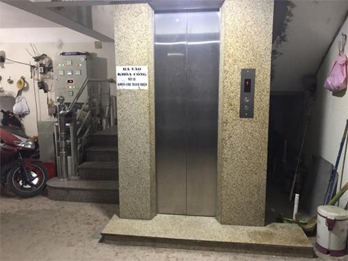 Cửa thang máy Mitsubishi Nhật