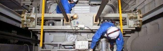 Bảo trì hệ thống cain thang máy