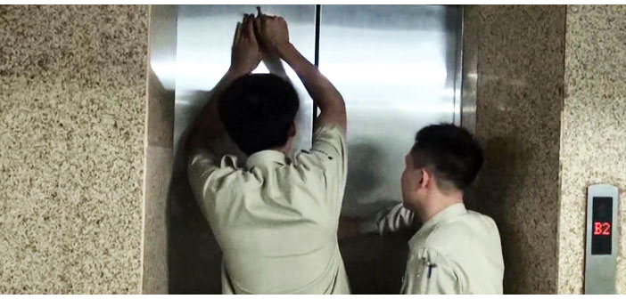 cứu hộ thang máy