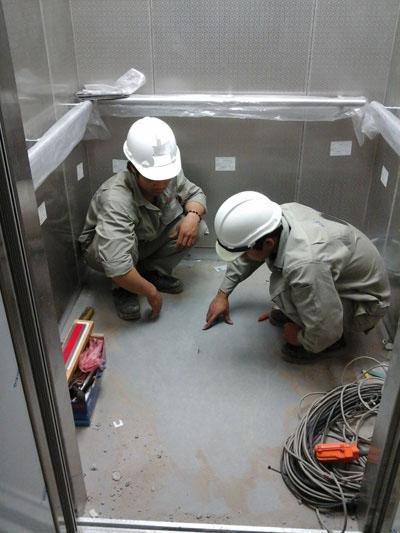Kỹ thuật lắp sàn thang máy
