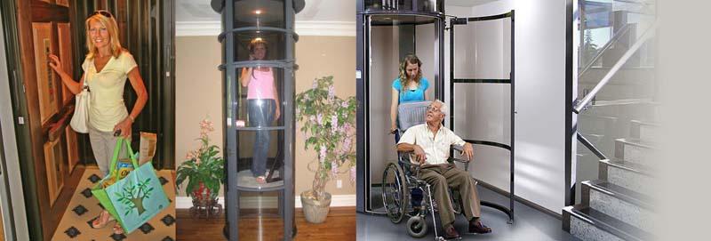 Sử dụng thang máy gia đình