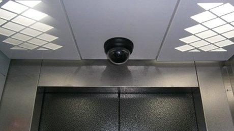 Camera cho thang máy gia đình