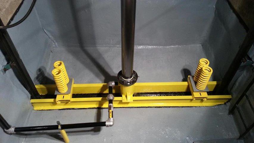 chống thấm cho thang máy hố pít thấp