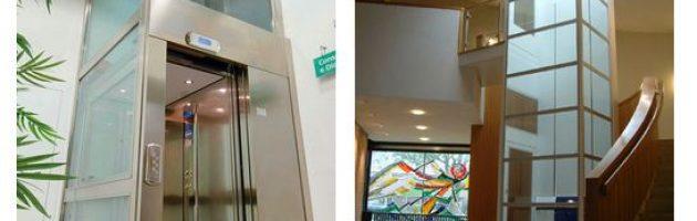 So sánh cấu tạo thang máy