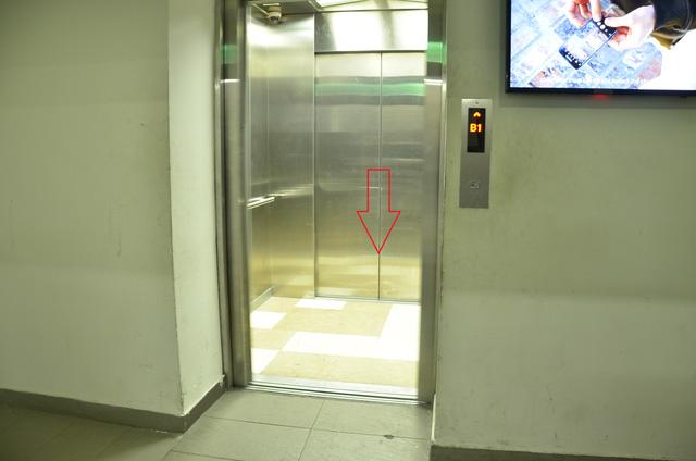 Sử dụng thang máy