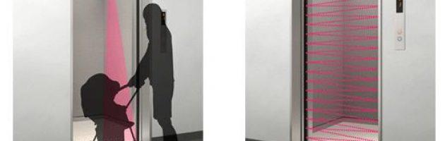 Mắt thân cửa thang máy