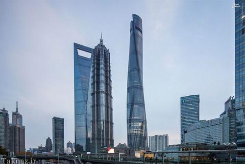 Thang máy tại Shanghai Tower
