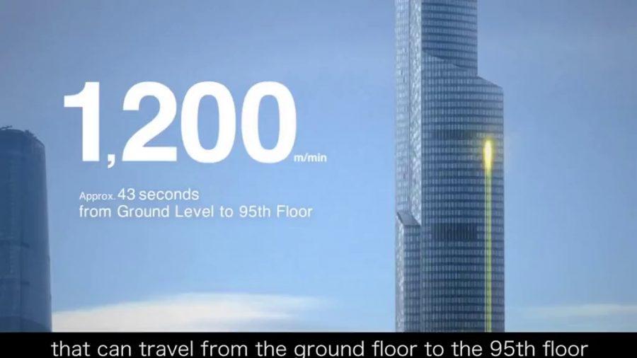 tốc độ của thang máy gia đình