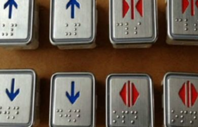 nút bấm thang máy