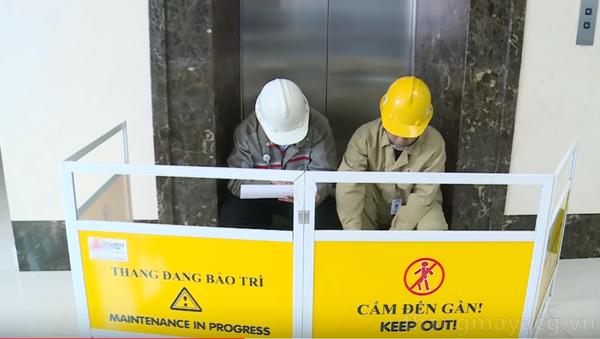 Bảo trì, bảo dưỡng thang máy