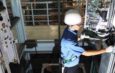 bảo trì thang máy