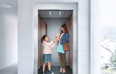 Thang máy an toàn cho gia đình
