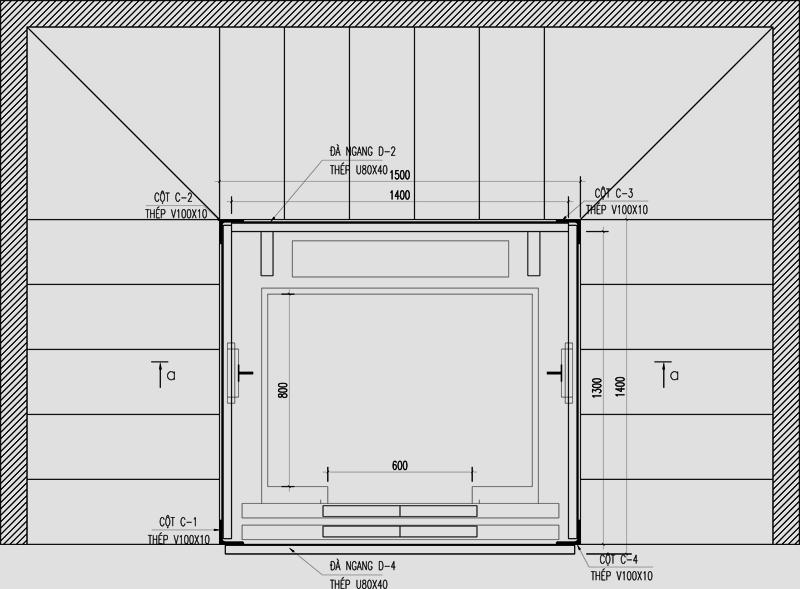 Thiết kế thang máy