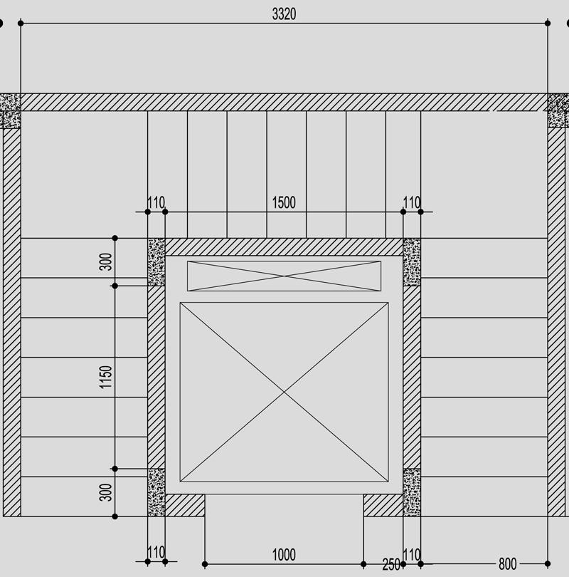 Bản vẽ thang máy gia đình Mitsubishi