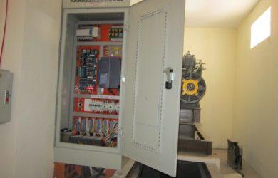 Nguồn cấp điện thang máy