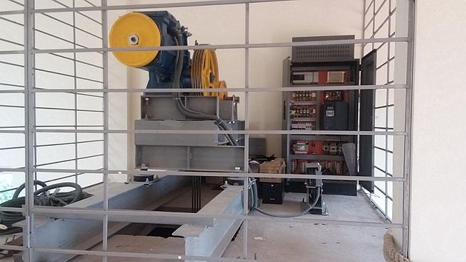 Các bộ phận thang máy