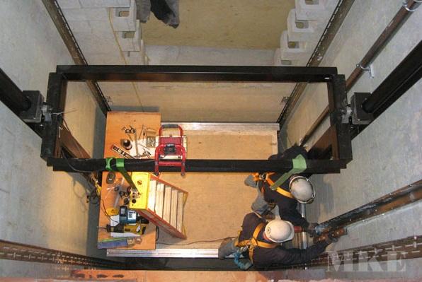 Hệ thống treo cân bằng thang máy