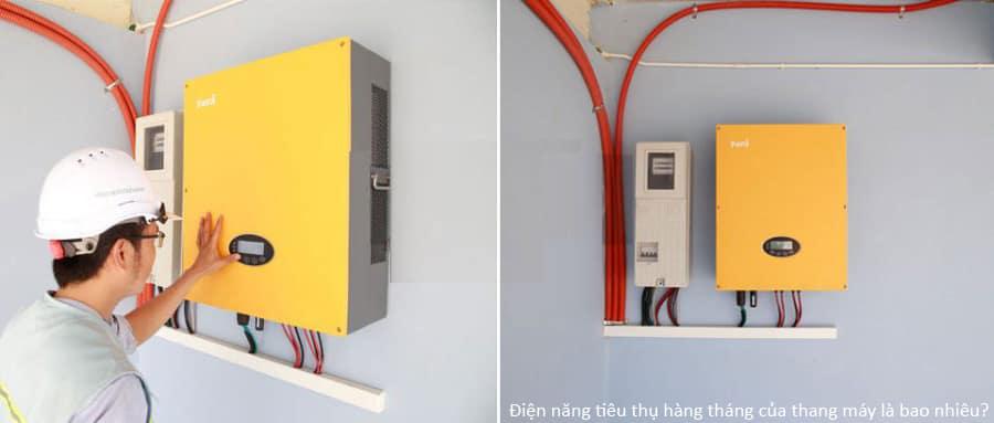 Điện thang máy tiêu thụ