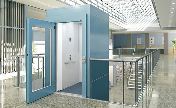 thang máy nằm độc lập